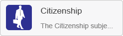 Citizenship VLE site