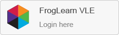 Log in to the FrogLearn VLE